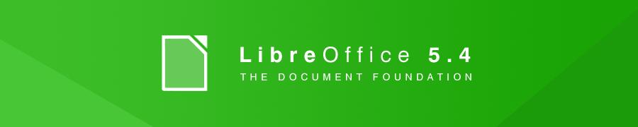 LibreOffice 5.4.0 — крупное обновление свободного офисного пакета