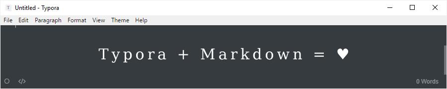 Познакомьтесь: Typora — редактор текста с поддержкой Markdown