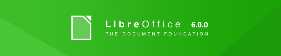 LibreOffice 6.0.0 — очередное крупное обновление офисного пакета
