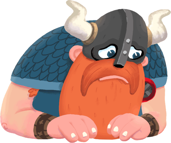 Викинг Олаф - маскот Opera VPN