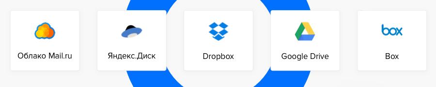 Диск-О 18.03.1045 — обновление с поддержкой Google Drive, Dropbox и Box