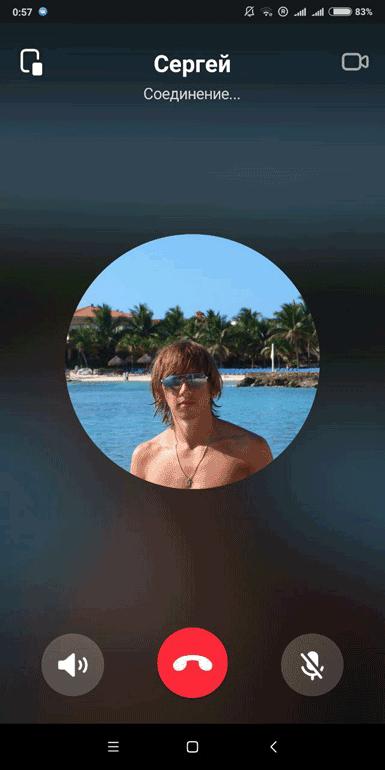 Окно вызова