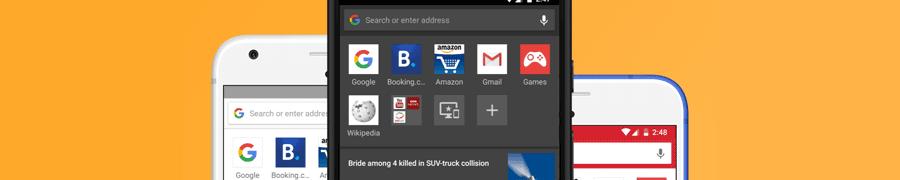 Opera для Android 46 — обновление мобильного браузера