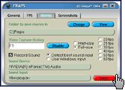 Скриншот FRAPS 2