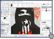 Скриншот GIMP 1