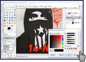 Скриншот GIMP 2