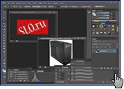 Скриншот Adobe Photohop 3
