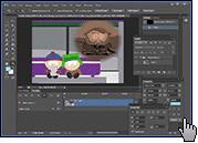 Скриншот Adobe Photohop 4