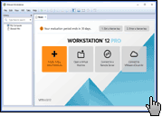 Скриншот VMWare Workstation 1