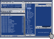 Скриншот Winamp 1